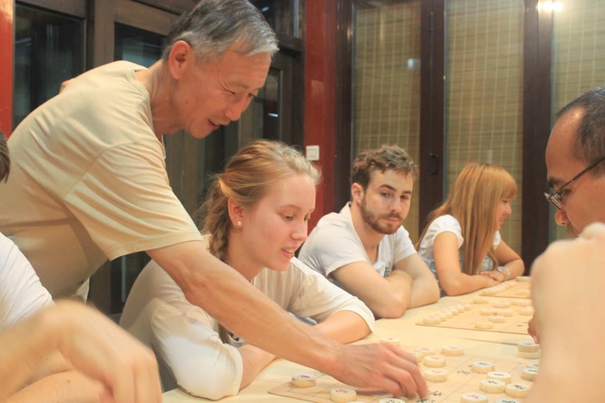 Small group Chinese classes in Shanghai