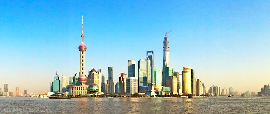 在上海学习汉语和实习