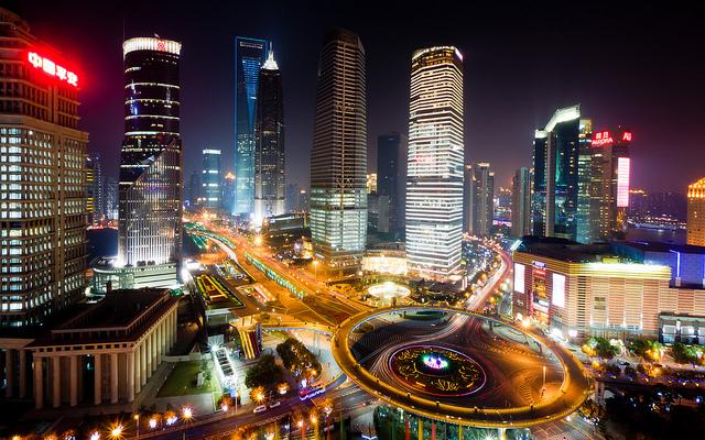 La vie nocturne à Shanghai