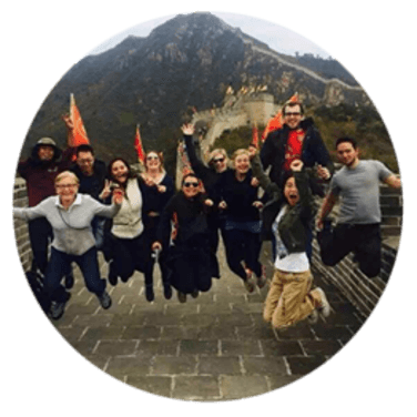 ICP - choose my week-end trip to  discover China