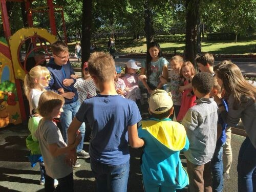 chinese summer camp for children in moscow