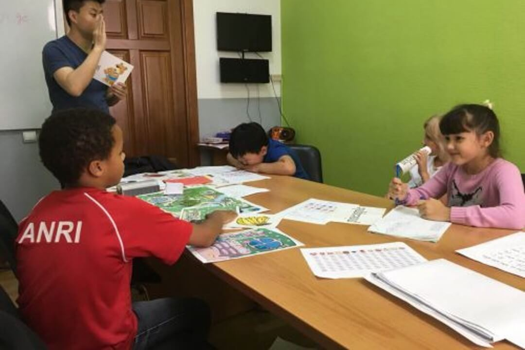 Children Chinese courses in Moscow