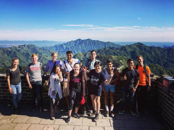 group hospitality study programs china